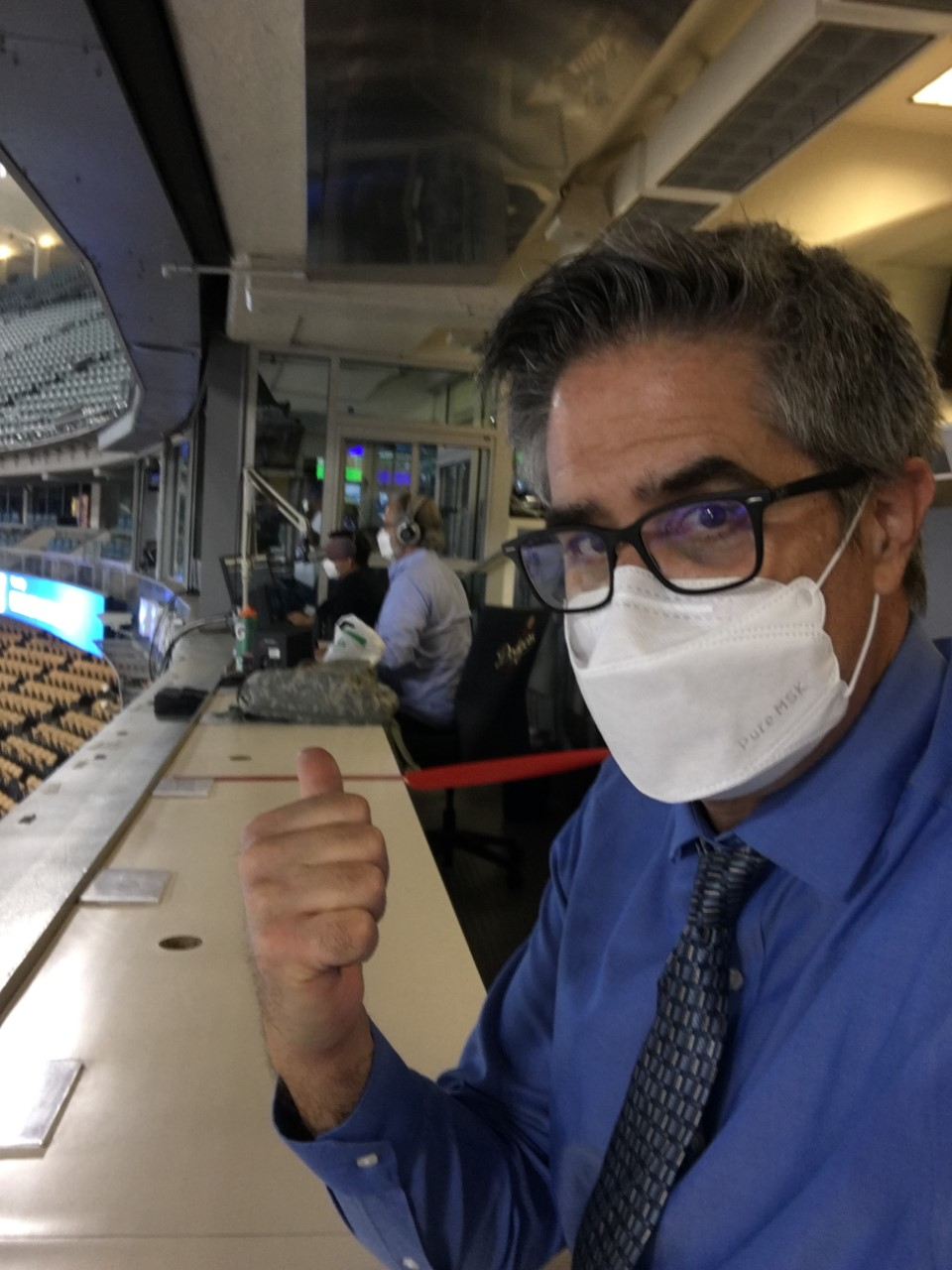 Greg Taylor in booth