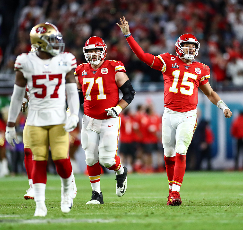 Superbowl 2020 Mahomes