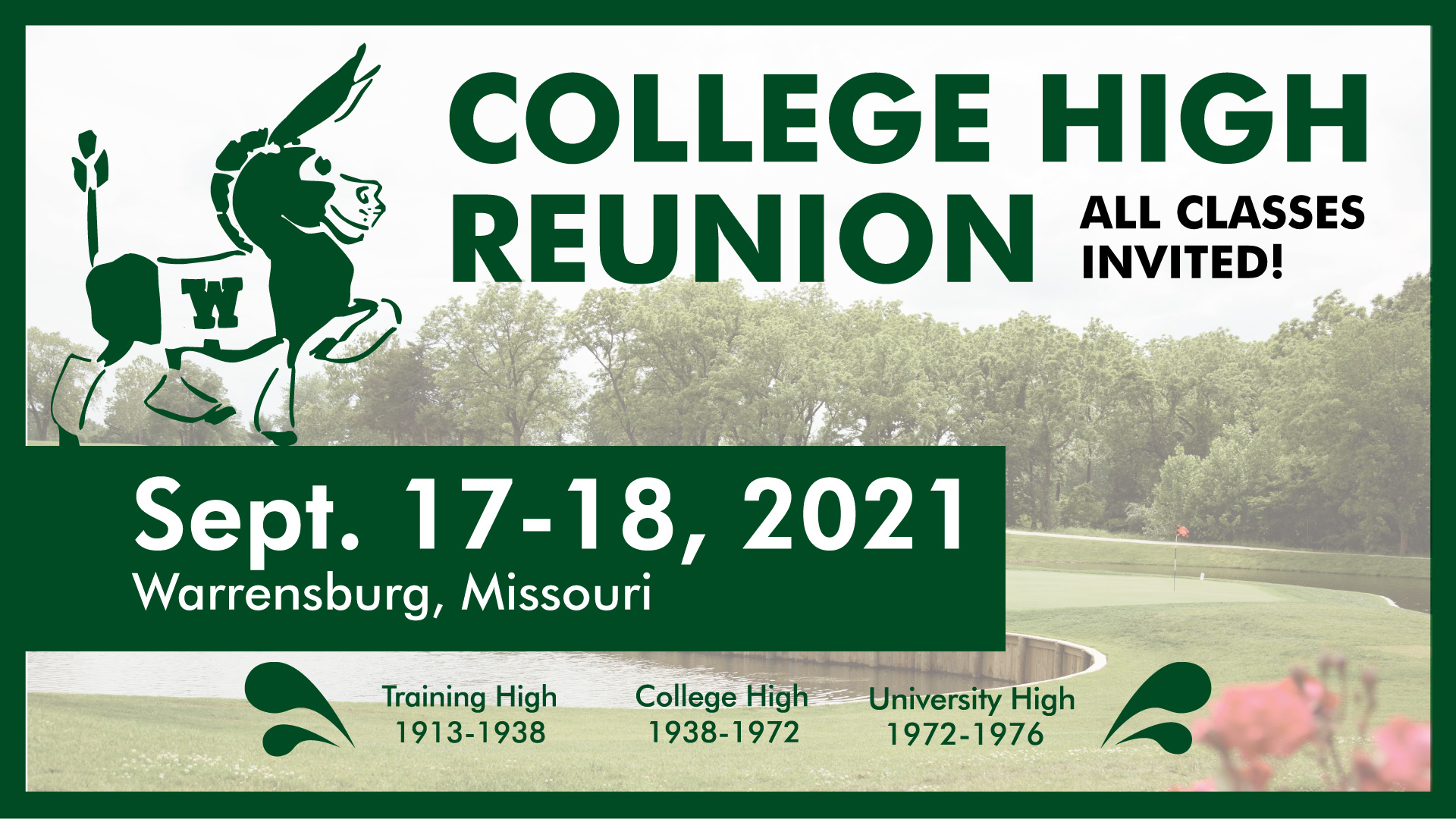 College High FB event