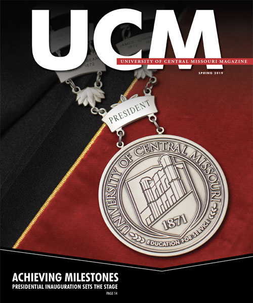 Spring 2019 UCM Magazine Cover
